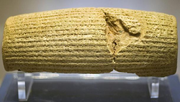 Front of the Cyrus Cylinder. (Prioryman / CC BY-SA 3.0)