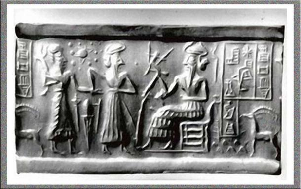 Cylinder Seal VA243 used as evidence by Sitchin.