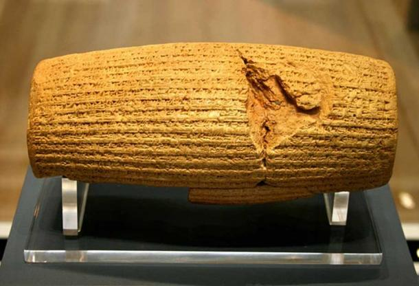 Cyrus cylinder. (Mike Peel/CC BY SA 4.0)