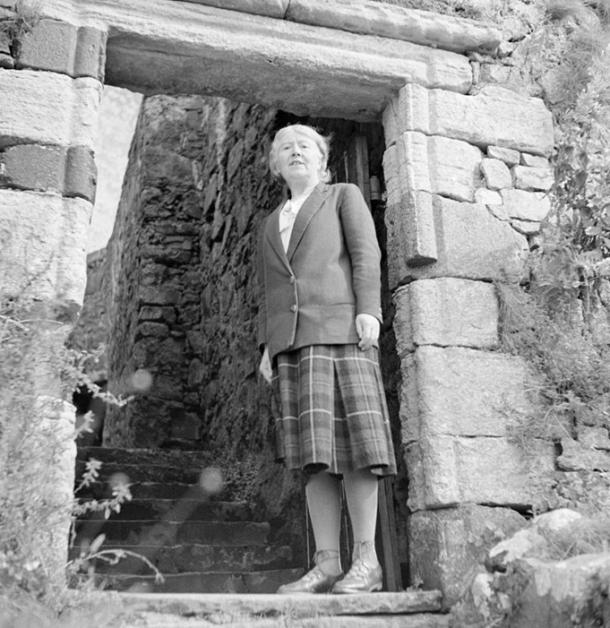 Dame Flora MacLeod of MacLeod of Dunvegan Castle, a castle belonging to the clan MacLeod Annotation