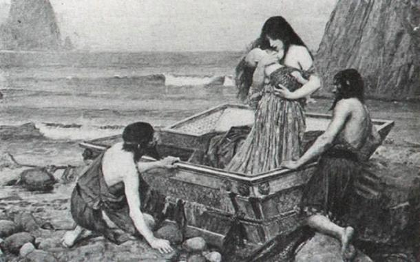 Danae and son Perseus were set adrift, and landed at Seriphus.