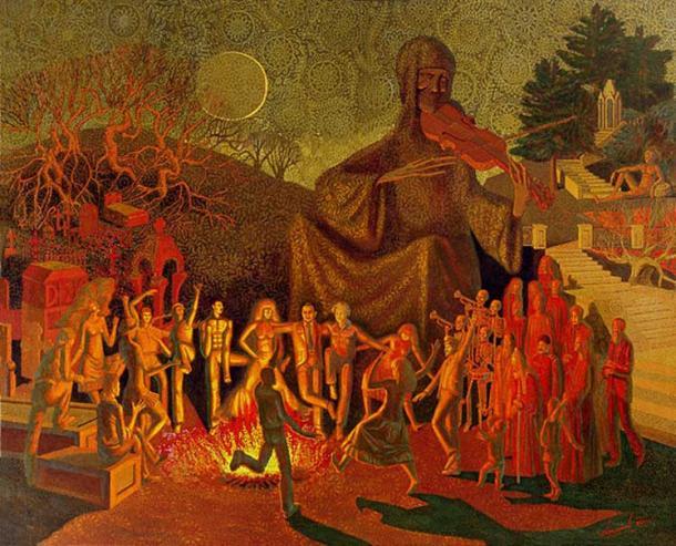 """Dance of Death"" (2008 – 2009) by Alexey Akindinov."