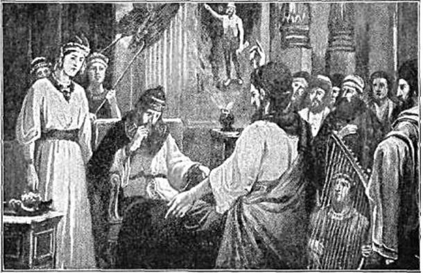 Daniel interpreting Nebuchadnezzar's dream (1917) W.A. Spicer