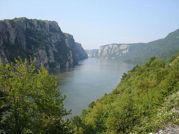 Danube River near Iron Gate. (Cornelius Bechtler/CC BY SA 3.0)
