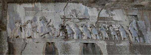 Monument to Darius the Great at Behistun.