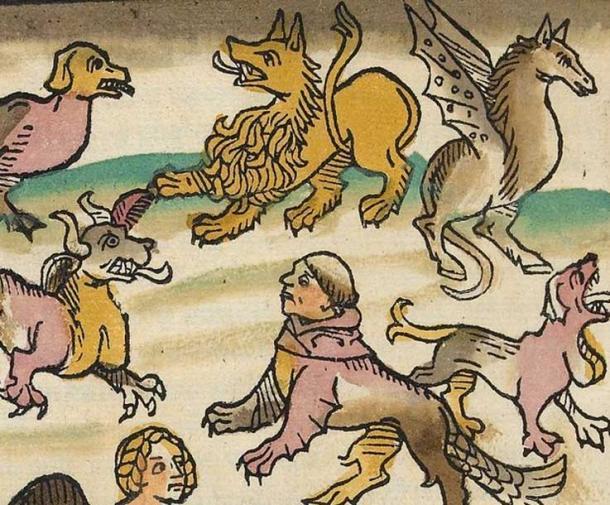 Das Buch der Natur Germany (1349–1350) Konrad von Megenberg. (Biblioteca Digital Mundial)