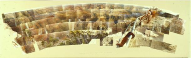 David Hockney, photographs of the Grand Canyon