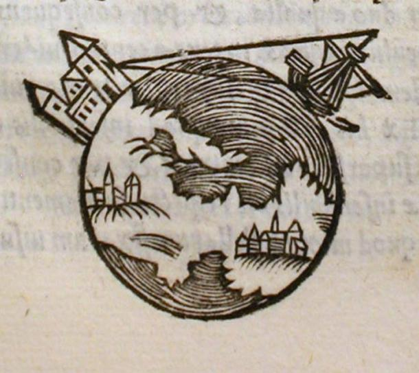 Picture from a 1550 edition of De Sphaera.
