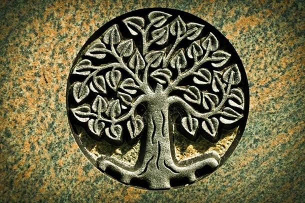 De-lun-ya-wa-gon opened a portal or doorway by lifting the roots of the Great Tree of Light, a type of Axis Mundi at the center of the Sky World.