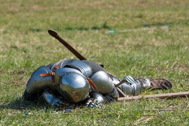 Dead knight. (Petr Zip Hajek / Adobe)