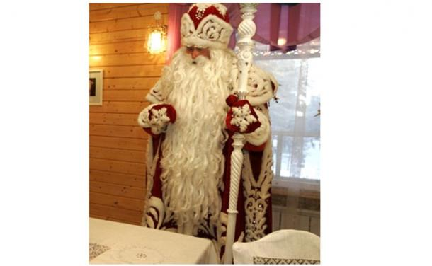 Ded Moroz in his home at Veliky Ustyug, Vologda Region, Russia.