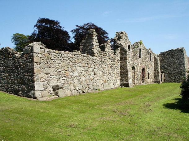 Deer Abbey in Scotland.