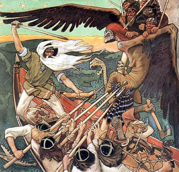 'The Defense of the Sampo' (1896) by Akseli Gallen-Kallela.