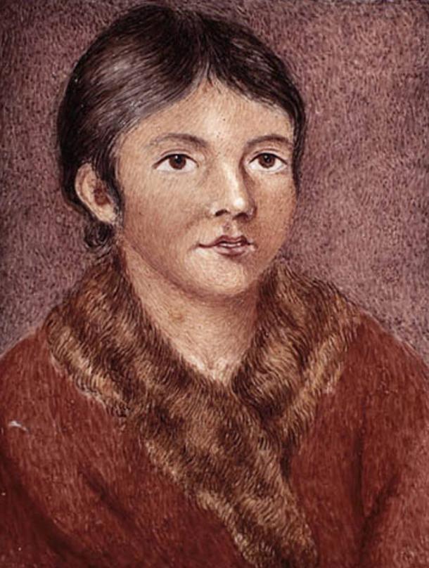 Demasduit (Mary March), a Beothuk woman.