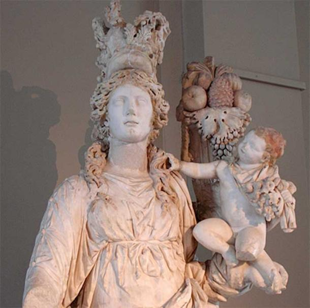 Demeter and Pluto