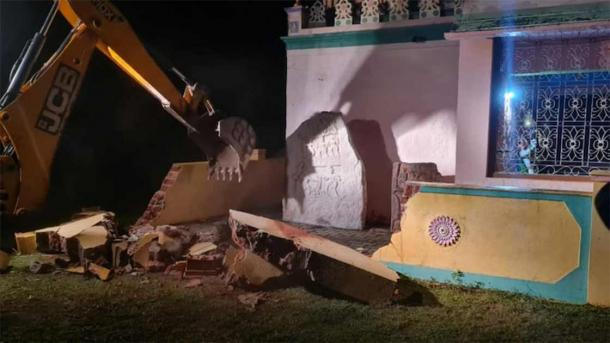 Demolition of the Nanjanagudu Hindu temple in Mysuru, the most recent temple destruction in India site, has ignited passionate protests against India's ruling BJP political party, which has been in power since 2014. (India Today)