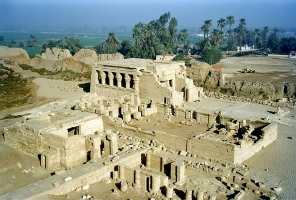 General view of the Dendera Temple complex