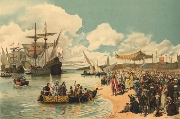 Departure of Vasco da Gama to India in 1497. (Dantadd / Public Domain)
