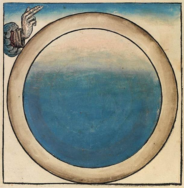 Depiction of the First Day of Creation, one of the stories within the Book of Genesis, as illustrated within the 1493 Nuremberg Chronicle. (Public domain)