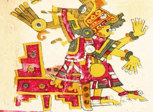A depiction of Xochiquetzal from the Codex Rios. (Public Domain)