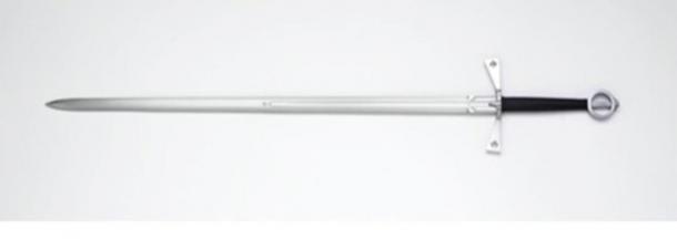Depiction of a medieval Gallowglass claymore sword. (Søren Niedziella / CC BY 2.0)