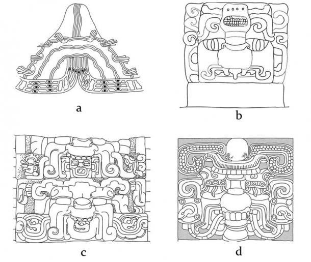 Las pinturas de las montañas sagradas en el arte mesoamericano