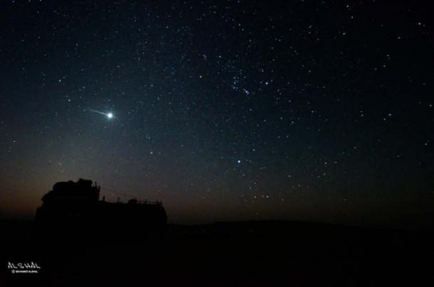Desert stars over Siwa Oasis