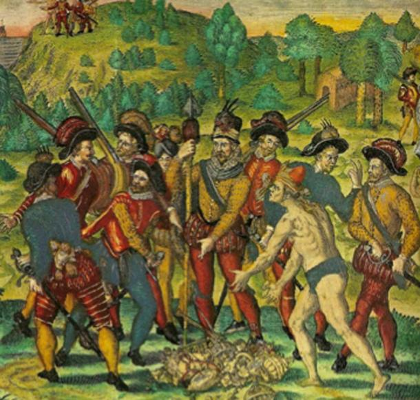 Despite the ransom being paid for Atahualpa's release, he was executed by the Spanish, effectively ending the Incan Empire. (Nathan Hughes Hamilton / CC BY-SA 2.0)