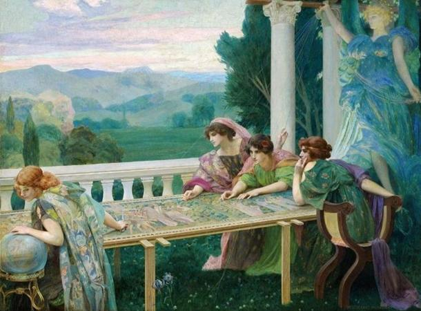 'Destiny' by Henry Siddons Mowbray