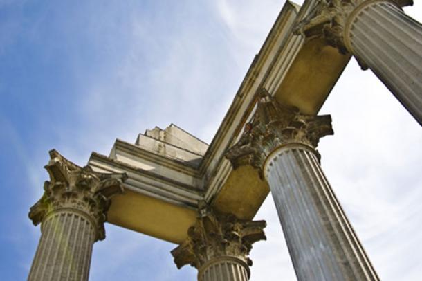 Detail of a column still remaining of the former Roman settlement (Jule Berlin / Adobe Stock)