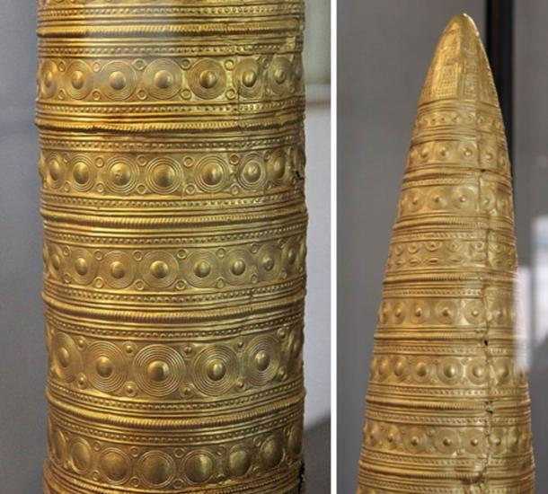 Detail of the Berlin Gold Hat