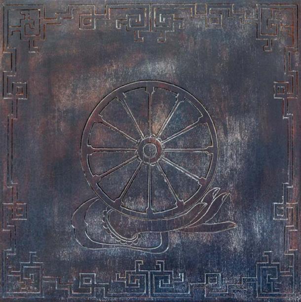 Dharma Wheel Buddhist symbol (Vladyslav Danilin / Adobe Stock)
