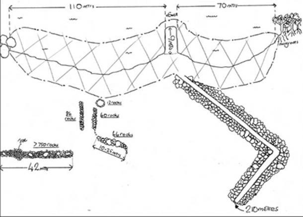 Diagram of Adam's Garden Standing. (Author provided)