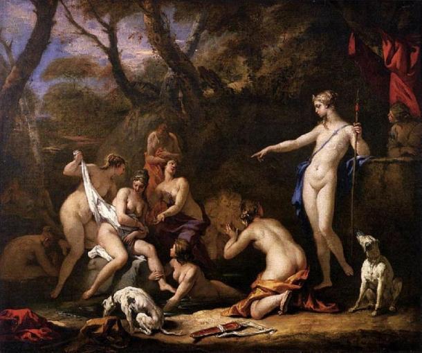 'Diana and Callisto' (1712-1716) by Sebastiano Ricci. (Public Domain)