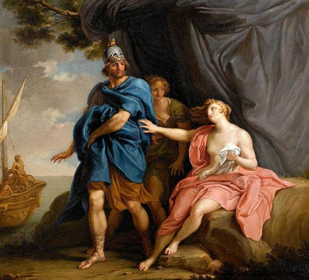 Dido and Aeneas by Pompeo Batoni, 1747