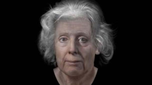 Digital reconstruction of Lilias Adie by Dundee University (Dundee University)
