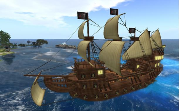 Digital reconstruction of Queen Anne's Revenge