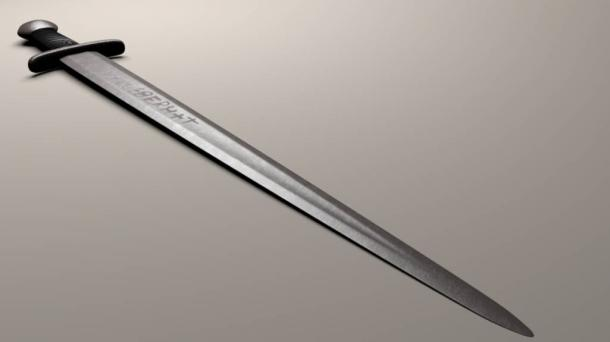Digital reconstruction of an Ulfberht sword