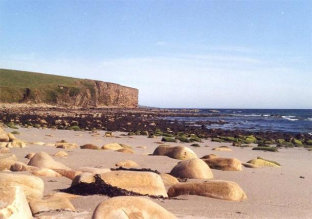 Dingieshowe beach in Orkney near to where the Viking thing was found. (Fabio Sassi / CC BY-SA 2.0)