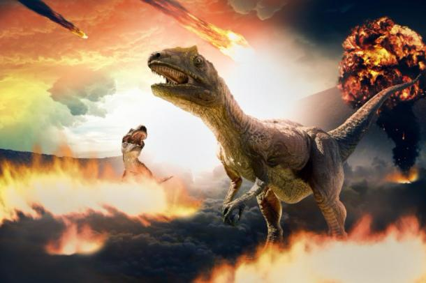 Dinosaurs mass extinction event triggered by asteroids. (Image: serpeblu / Adobe Stock)