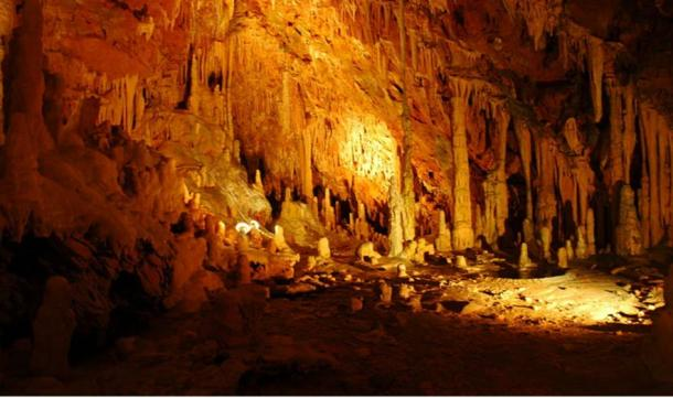 One of the Diros Caves in Greece