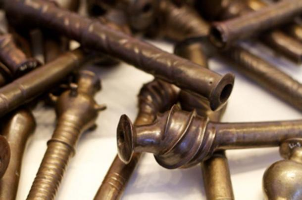 Discovered at Nahal Mishmar dozens of scepters and other objects made of copper. Do these represent an early writing system? (Nick Thompson / CC BY-SA 2.0)