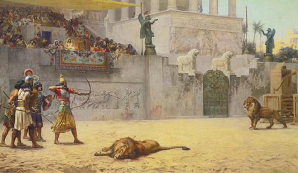 Frederick Arthur Bridgman, The Diversion of an Assyrian King