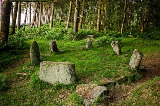Doll Tor is one of the most charming stone circles in the British Isles. (Elfmeterschiessen/CC BY SA 3.0)