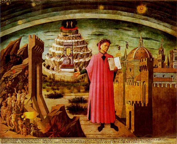 Domenico di Michelino's painting.