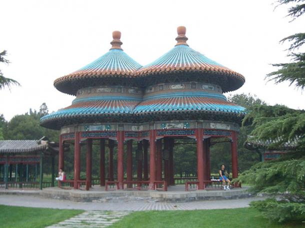 Double Ring Longevity Pavilion in Temple of Heaven Park (Vmenkov / CC BY-SA 3.0)