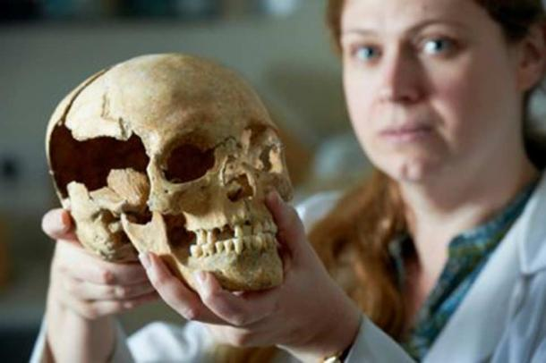 Dr Jo Buckberry of Bradford University, who carried out research into the Stirling Castle skeletons.