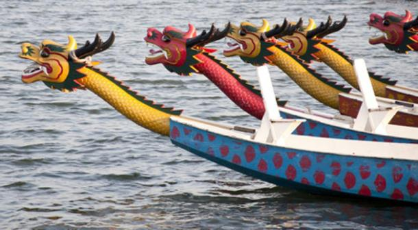 Dragon boats. (flytoskyft11 /Adobe Stock)