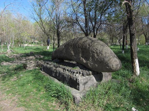 Dragon stone from Geghama mountains.