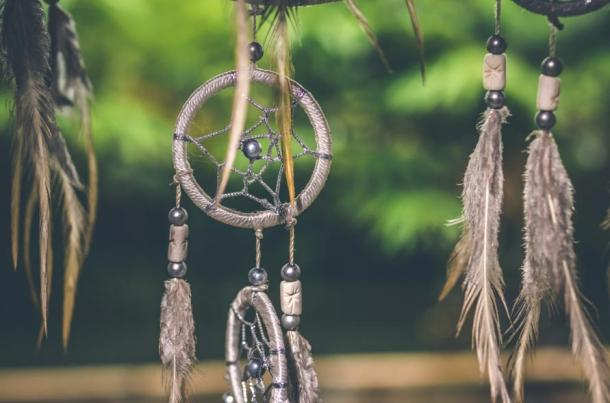 Dreamcatchers are a wold-famous part of Native American handicrafts.